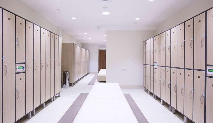 Locker Room Flooring
