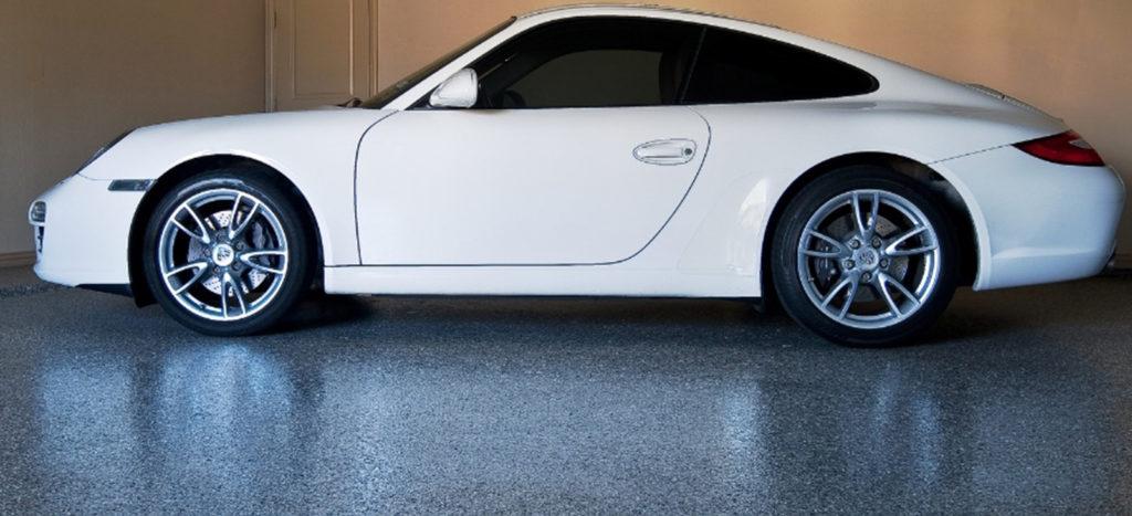 car on floor